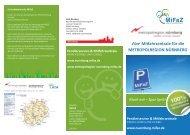 Mach mit – Spar Sprit! Pendlerservice ... - Stadt Nürnberg