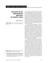 Economía de los medicamentos genéricos en ... - Federico Tobar