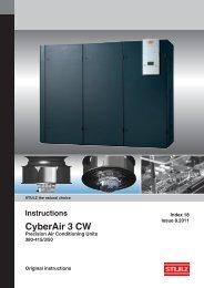 CyberAir 3 CW - Novema kulde