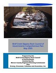 Wolf Creek COG Comprehensive Plan - Mercer County Regional ...