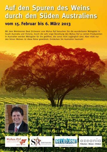 Weinreise 2013 - Ozeania Reisen