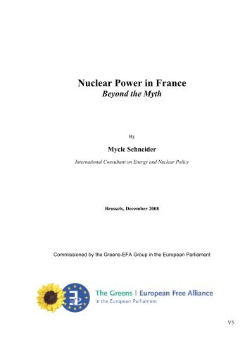 Nuclear Power in France - Physicians for Social Responsibility
