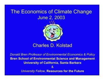 Kolstad FAME Presentation June 2003.pdf - University of California ...