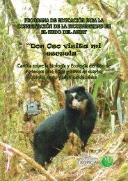 """""""Don Oso visita mi escuela"""" - Fundación Cordillera Tropical"""