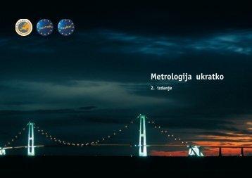 Metrologija ukratko.vp - Državni zavod za mjeriteljstvo