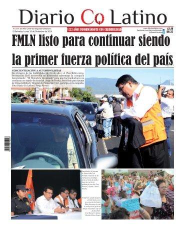 Edición 29 de Diciembre de 2014