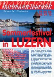 02.09.2013 Sommerfestival in Luzern - touristik-hartmann.de