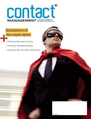 Emergence of the super agent - Contact Management