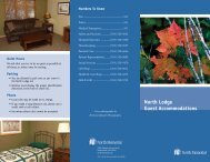 North Lodge Guest Accommodations - North Memorial Health Care