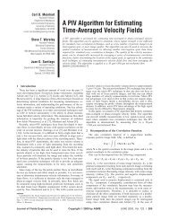 A PIV Algorithm for Estimating Time-Averaged Velocity Fields