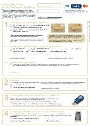 Kartenbestellung (pdf) - Kreditkarte.at
