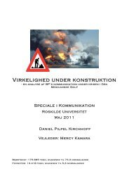 Virkelighed under konstruktion - Kommunikationsforum