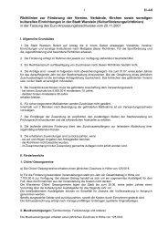 Richtlinien zur Förderung der Vereine, Verbände, Kirchen ... - Warstein