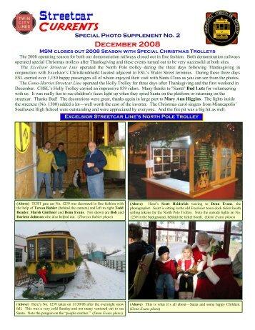 December 2008 - Minnesota Streetcar Museum