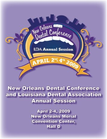 New Orleans Dental Conference and Louisiana Dental Association ...