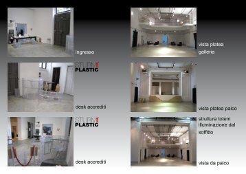 Brochure della location - Location Eventi Milano