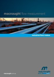 Industrial Flow Meter Catalogue - Macnaught
