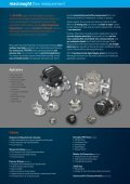 Industrial Flow Meter Catalogue - Macnaught - Page 2