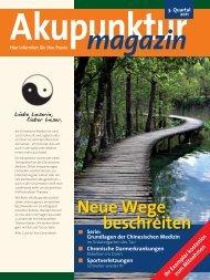 Akupunktur Magazin Juli 2011