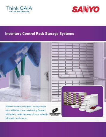 Storage Rack Brochure - Biomedical