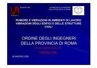 Presentazione_3 - Ordine degli Ingegneri della provincia di Roma