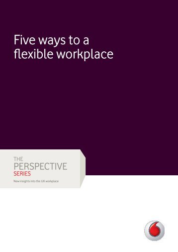 Flexible working tips [340KB] - Vodafone