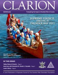 Clarion - Winter 2012 - Ancient and Accepted Scottish Rite of ...