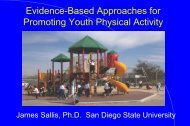 Community-based Approaches - James F. Sallis