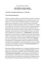 Dr. Michael Bertrams, Münster Zum Verhältnis von Kirche ... - Die Zeit