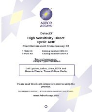 High Sensitivity Direct Cyclic AMP - Nordic Biosite