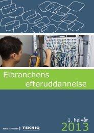 efteruddannelse Elbranchens - Dansk El-Forbund