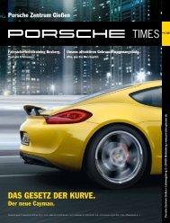 Ausgabe 4/12 - Porsche Zentrum Gießen
