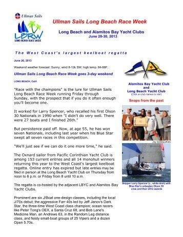 Ullman Sails Long Beach Race Week goes 3-day weekend