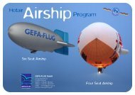 Hot-Air Airship Program pricelist 2013 (Eng/Ger) - Gefa-Flug
