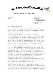 Post im Februar 2012 - St. Petronilla