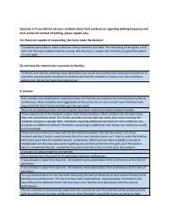 Question 3 - Alberta Continuing Care Association