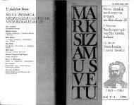 Vuletić, Ljiljana (ur.) Marksizam u svetu br. 4-5
