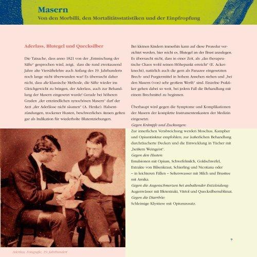 Teil 1: Masern Von den Morbilli, den ... - GlaxoSmithKline