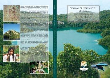 programa de conservación y manejo área de protección ... - Conanp