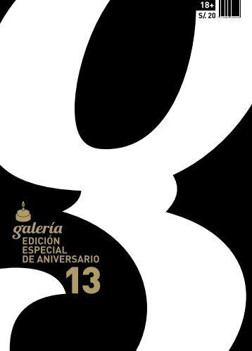 EDICIÓN ESPECIAL DE ANIVERSARIO - Galería Recomienda