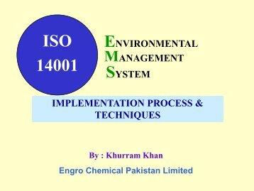 ISO 14001 - IEP Karachi Centre