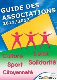 Guide des associations 2011-2012 - Commercy