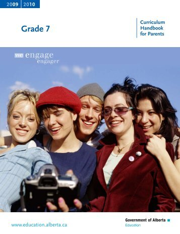 Grade 7 Curricular Handbook for Parents - Alexandra Middle School