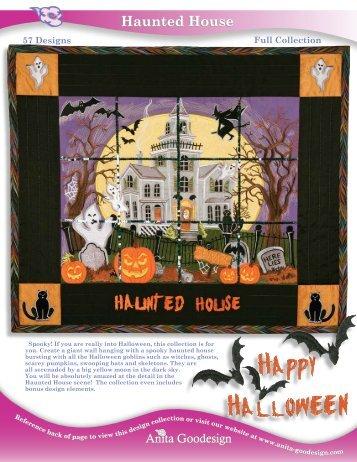 Haunted House Haunted House - Anita Goodesign