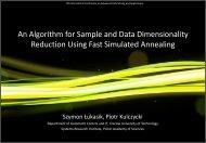 Parallel Fast Simulated Annealing Algorithm for Linear ...