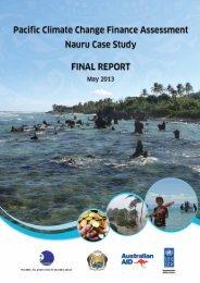 Nauru Case Study - Pacific Islands Forum Secretariat