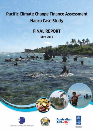 Nauru Case Study - Pacific Islands Forum Secretariat