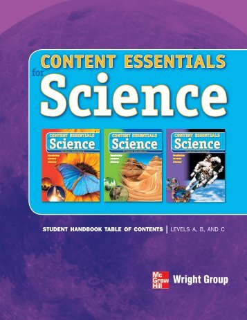 CONTENT ESSENTIALS - McGraw-Hill Ryerson