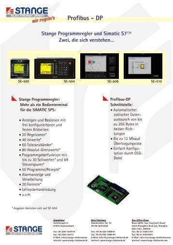 Profibus - DP - Stange Elektronik GmbH