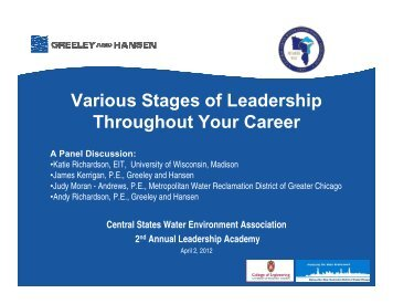 Various Stages of Leadership Throughout Your Career